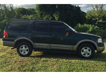 8 Seat Ford Expedition SUV Rental Car