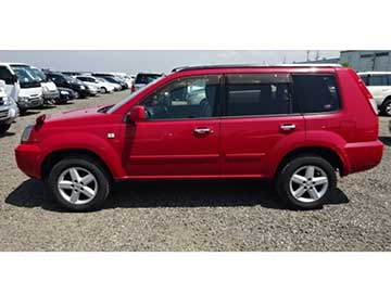 Red Nissan X Trails SUV Rental